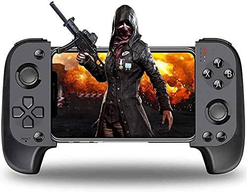 FGDFGDG Controlador de Juegos de Juegos móviles Bluetooth Controlador de teléfono para Android Wireless Mobile Controller/iOS Game Controller Game Game,Negro