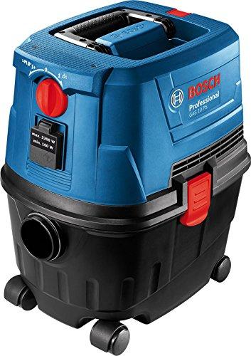 Bosch Professional(ボッシュ) 集じん機 乾湿両用 ブロワ機能 5mコード フィルター清掃スイッチ 電動工具用連動コンセント付き GAS10PS