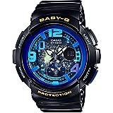 [カシオ] 腕時計 ベビージー BEACH TRAVELER BGA-190GL-1BJF ブラック