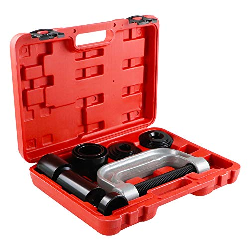 Frombet Heavy Duty Ball Joint Press & U Joint Removal Tool Kit with 4x4 Adapters, for Most 2WD and 4WD Cars and Light Trucks