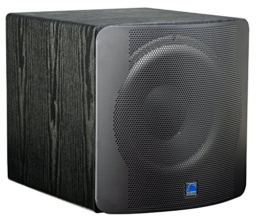 SVS SB-12 NSD Black Ash - High End Aktiv-Subwoofer Class D mit 800 Watt Peak, Farbe Schwarz matt