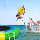 Baohooya 10 Ft Water Trampolines for Kids Adults, Water Bouncer for Water...