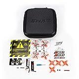 Goolsky EMAX Tinyhawk II Drone de Course FPV Caméra 700TVL Haute Vitesse 50 KM/H F4 5A Drone Brushless Quadcopter FPV Lunettes RTF