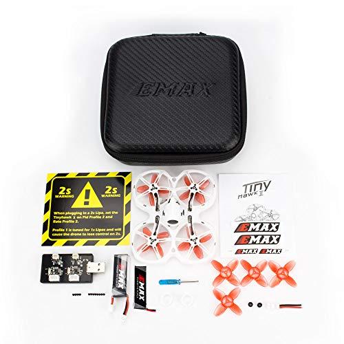 Goolsky- Tinyhawk II Indoor FPV Racing Drone Alta Velocidad 50 KM / H F4 5A 16000KV con Cámara 700TVL Versión BNF