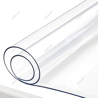 Yizunnu - Mantel Impermeable de 1 mm de Vinilo, Suave,