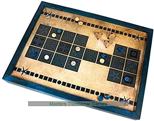Masters Traditional Games Royal Game of Ur - Vinyl Playing Surface