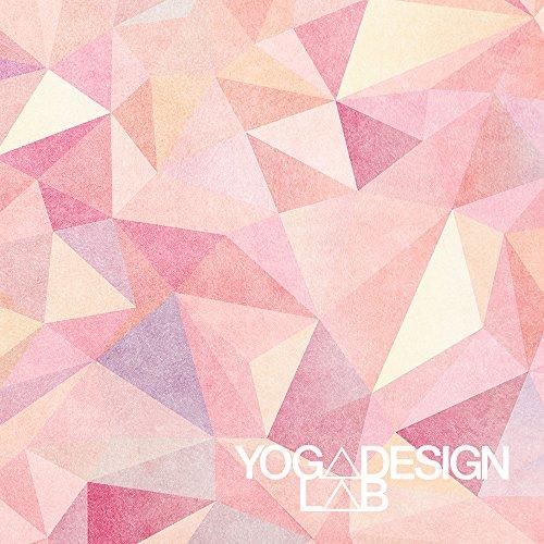YogaDesignLab(ヨガデザインラボ)ヨガマット厚さ3.5mmコンボマットストラップ付(Aamani)
