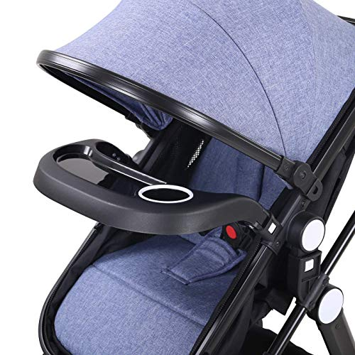 Best Review Of Baby Stroller Newborn Carriage Infant Reversible Bassinet to Luxury Toddler Vista Sea...