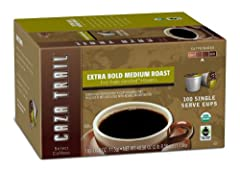 Blend of select coffees from Latin America and Indonesia Bold yet smooth, well-rounded finish that is full-bodied with moderate acidity Convenient for busy mornings or when you need an on-the-go treat Fair Trade certified, USDA certified Organic and ...