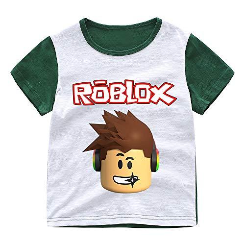 Roblox Camiseta Avant-Garde Camiseta de Manga Corta con Estampado de Manga Corta Camiseta...