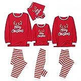 Padaleks Pajamas Sets for Adult Christmas Pjs Little Kids Onesie Sleepwear Family Matching Clothes Long Loungewear