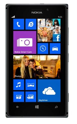 Nokia Lumia 925 - Smartphone libre Windows Phone (pantalla 4.5', cámara 8.7 Mp, 16 GB, Dual-Core 1.5 GHz, 1 GB RAM), negro