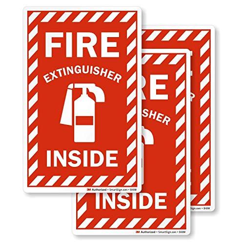 SmartSignFire Extinguisher Inside Label | 4