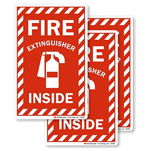 SmartSign Fire Extinguisher Inside Label | 4
