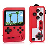 RegeMoudal Handheld Game Console, Retro Mini Game Console, 400 Classical FC Games, Built-in 800mAh Rechargeable Battery, Support for Connecting TV & 2 Players