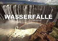 Wasserfaelle (Wandkalender 2022 DIN A2 quer): Faszinierende Wasserfaelle aus allen Teilen der Welt. (Monatskalender, 14 Seiten )