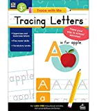 Carson Dellosa | Trace with Me: Tracing Letters Handwriting Activity Workbook | Toddler–Kindergarten, 128pgs