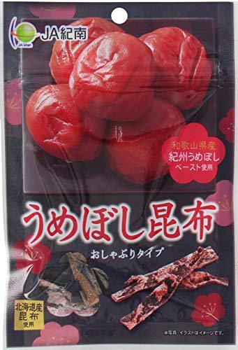 モントワール JA紀南 うめぼし昆布 12g×10袋