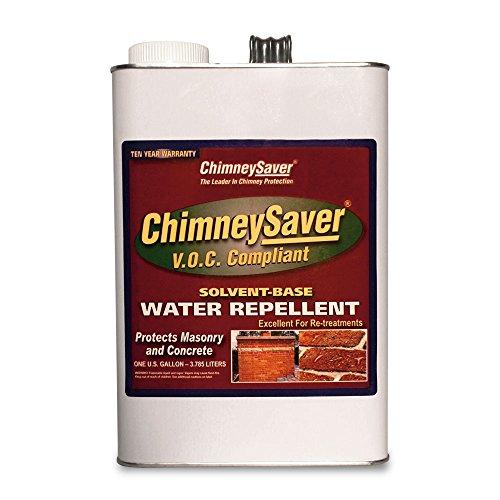 ChimneySaver VOC Compliant Solvent-Based Water Repellent, 1 Gallon