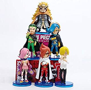 PVC Figures Model Toy 6pcs/Set One Piece WCF Vinsmoke Reiju/Judge/Ichljl/Sanji/Yonjin/Niji s with Box