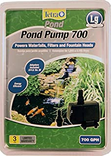 TetraPond 14936 Water Garden 700 GPH Pond Pump