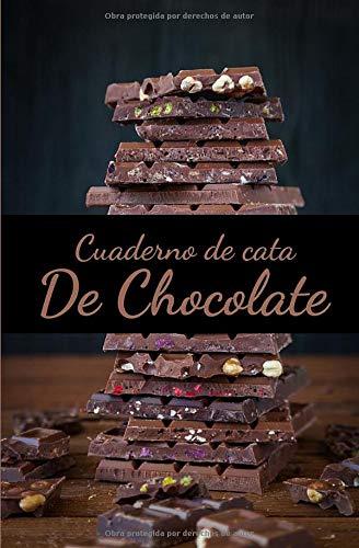 Cuaderno de Cata de Chocolate: Organiza, Registra y Analiza tu Degustación de Chocolate - Formato 13,34 x 20,32cm con 62 Páginas y 60 Fichas de Cata - Aprecia y registra cada bocado