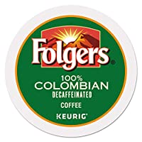 Folgers Gourmet Selections K-Cups Coffee, Decaf Lively Colombian for Keurig Brewing Systems (96 K-Cups) by Folgers