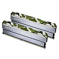 G.SKILL 32GB (2 x 16GB) Sniper X Series DDR4 PC4-24000 3000 MHz 288-Pin Intel X299 / Z370 / Z270 / Z170 Platform Desktop…