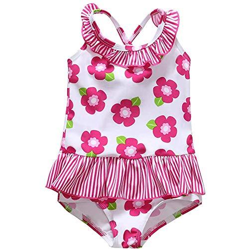 CharmLeaks - Bañador de una sola pieza para bebé Floral 6 mes