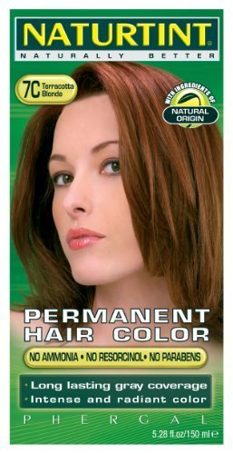 Naturtint Color permanente para el cabello – 7C rubio terracota, 5.28 fl oz (paquete de 6) por Naturtint
