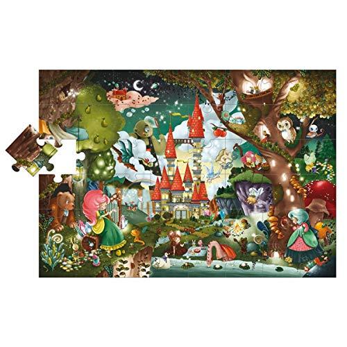 Lisciani 47239 Giant Puzzle - The Magic Castle