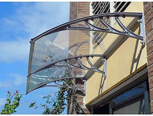 Deurmarkies Door Luifel Luifel, PC Polycarbonaat Luifel Rain Shelter, dit Canopy is niet alleen een functionele afdekking, maar ook een decoratie aan uw leefruimte Terras schaduw luifel
