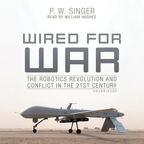 Wired for War audiobook cover art