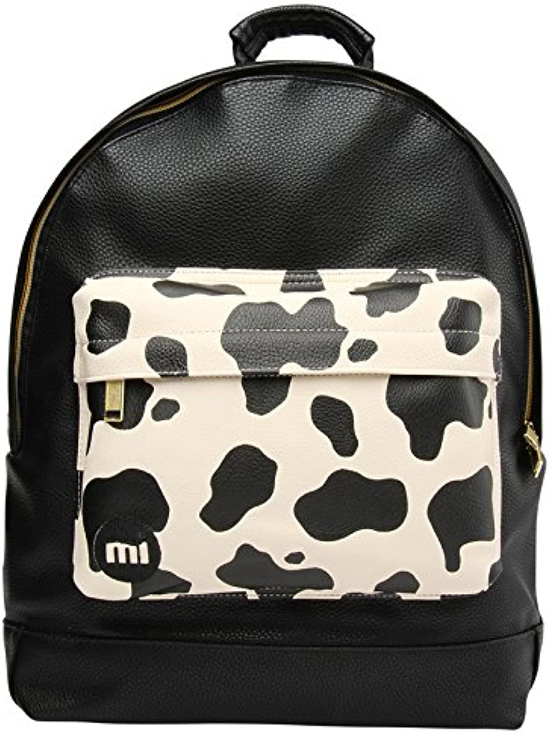 MiPac Cow Pocket Backpack  Cream Black, 17 Litre