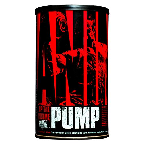 Universal Nutrition Animal Pump Standard Supplement, 30-Units