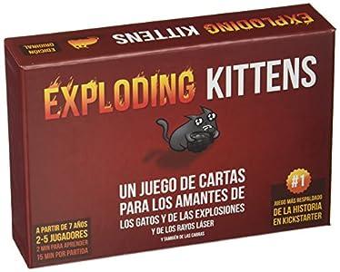 Exploding Kittens- Juego de cartas (EKEK0001)