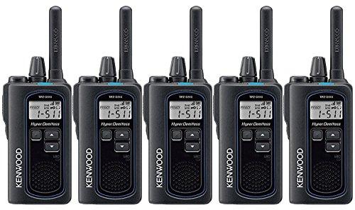 JVCケンウッド DEMITOSS デミトス TPZ-D510 ハイパワー デジタルトランシーバー 登録局対応 5台セット