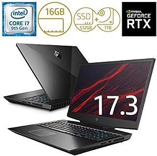 ヒューレット・パッカード(HP) ノートパソコン OMEN by HP 17-cb0000 シャドウブラック 7MN67PA-AAAA