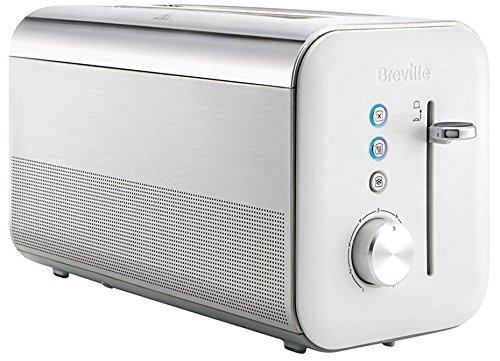 Breville Tostador High Gloss de doble rebanada larga VTT688X