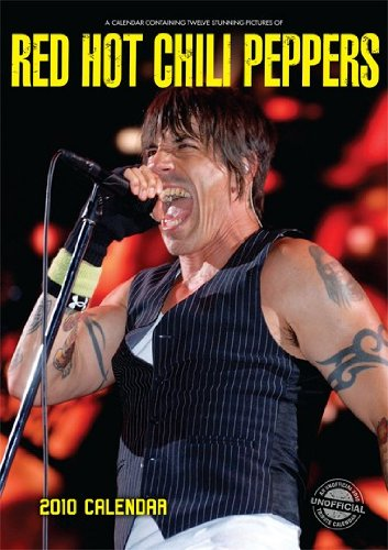 Red Hot Chili Peppers 2010 Calendar