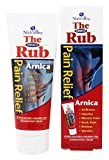 NatraBio The Arnica Rub   8% Arnica   Homeopathic Pain Formula for Relief from Stiffness, Injuries, Muscle Pain, Back Pain, Bruises & Sprains   4 oz   2 pk