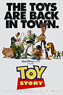 TOY STORY MOVIE POSTER 2 Sided ORIGINAL 27x40 DISNEY