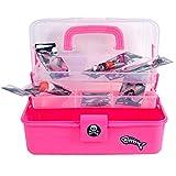Fladen Wilderness Angelkoffer für Kinder, Farbe:pink