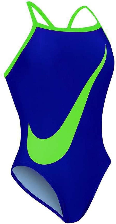 Nike Big Swoosh Lingerie Tank Swimsuit Women's 28 DeepNight