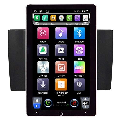 Youmine 1Din Pantalla Giratoria Ajustable 2G + 32G Reproductor Multimedia para AutomóVil 10.1 Pulgadas Android 8.1 BT GPS WiFi 3G / 4G Reproductor de Radio para AutomóVil