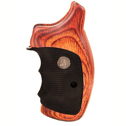 Pachmayr 00460 S&W K&L Frame, Round Butt, Rosewood
