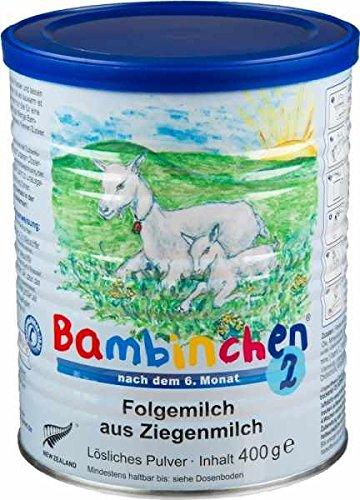 Bambinchen 2 - Babynahrung 7 bis 12 Monate 400 g - 6 Stück