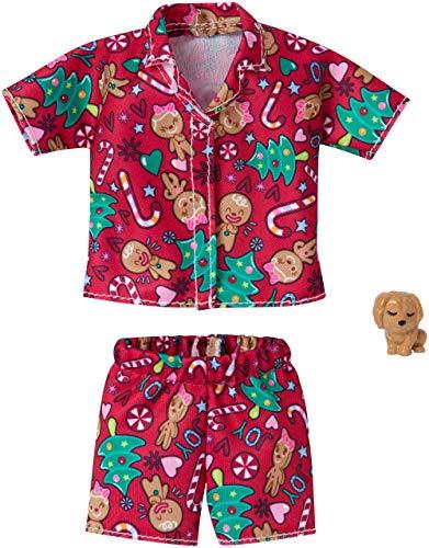Barbie Pijama Navidad | Mattel GGG49 | Moda Ropa de la Muñeca