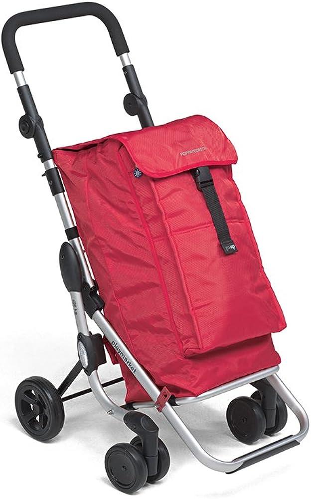 Foppapedretti go up carrello portaspesa, rosso (red) 9702000300
