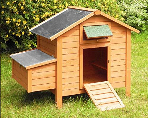 Corral para gallinas con ponedero, 6-8 gallinas.
